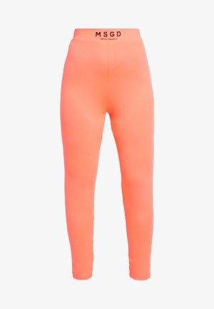 WAIST LEGGINGS - Legíny - neon