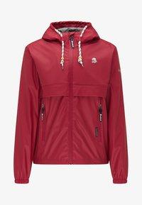 Schmuddelwedda - Waterproof jacket - red - 4