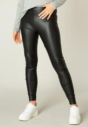 YSABEL - Leggings - Trousers - black