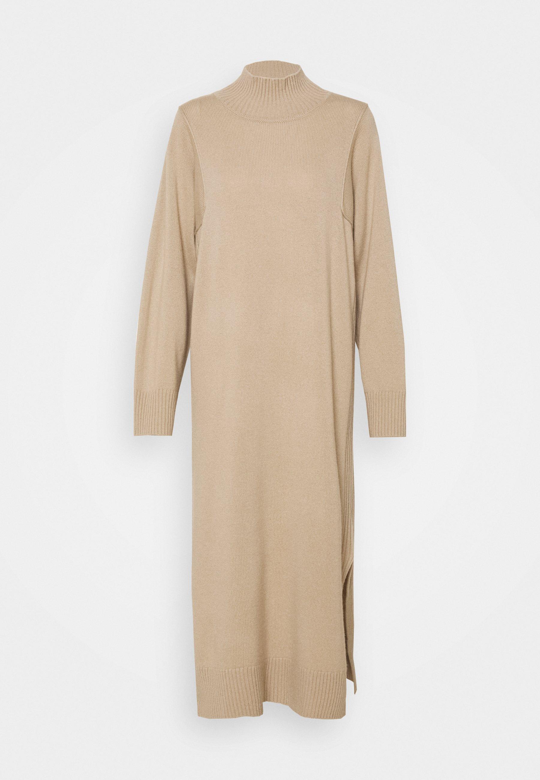 Femme DRESS HIGHNECK - Robe pull