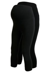 Anna Field MAMA - Leggings - black - 0