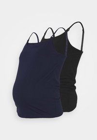 2 PACK  - Toppi - black/dark blue