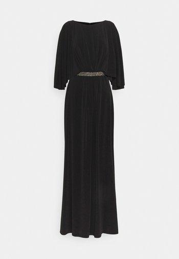 CLASSIC LONG GOWN TRIM - Společenské šaty - black