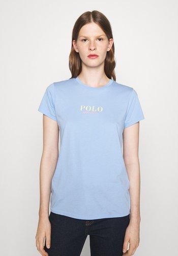 SHORT SLEEVE - Print T-shirt - austin blue