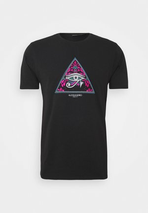 REFLECT - T-shirt print - black