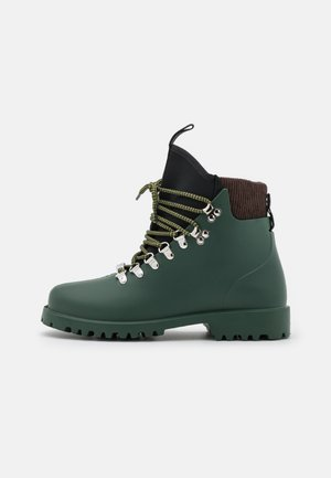 AGENZIA - Lace-up ankle boots - verde