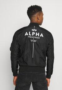 Alpha Industries - GLOW IN THE DARK - Bomber Jacket - black - 2