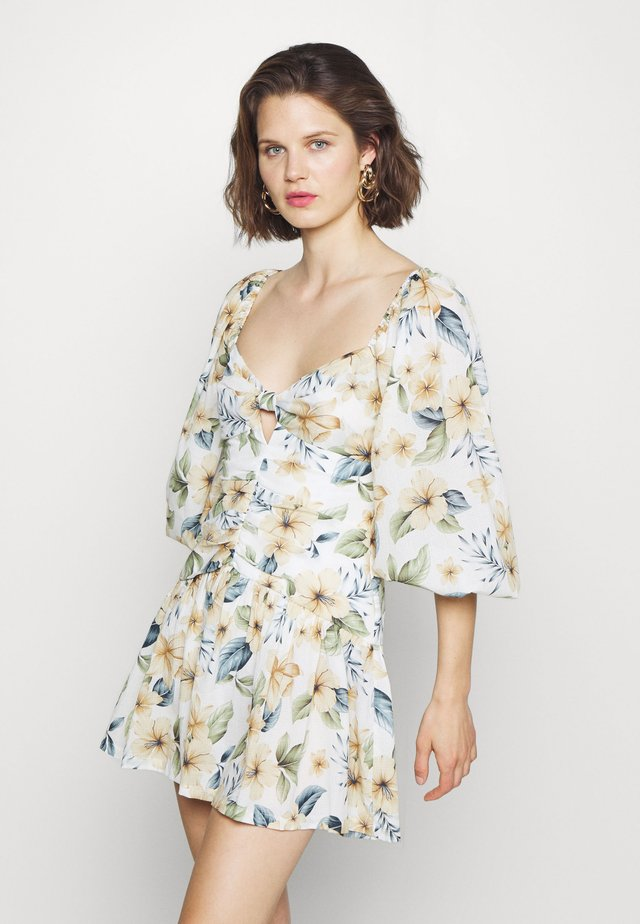 FLEURETTE MINI DRESS - Day dress - floral print