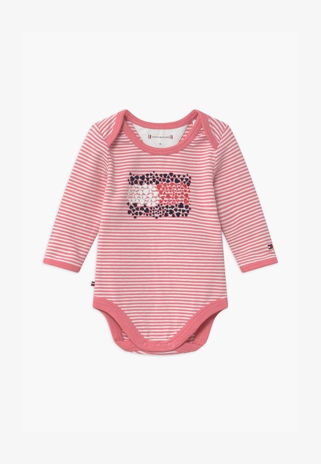 BABY STRIPE - Body - pink