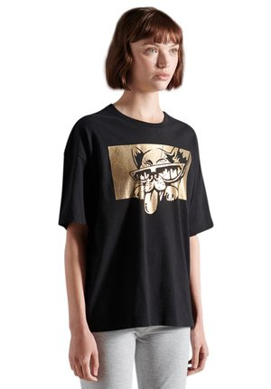 CITY NEW YORK - Print T-shirt - black