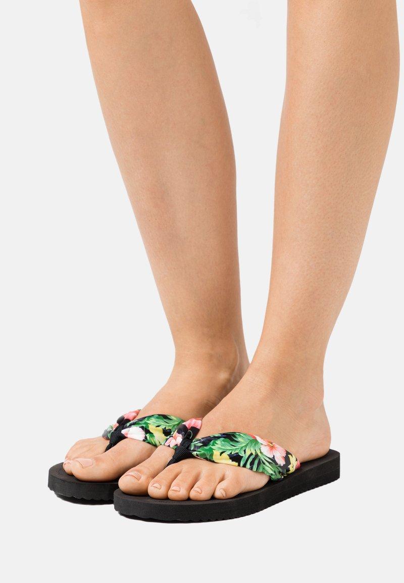 flip*flop - TUBE TROPICS - T-bar sandals - black