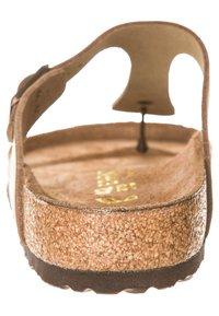 Birkenstock - GIZEH - T-bar sandals - tabakbraun - 1