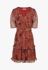 NAF NAF - Sukienka letnia - brown - 3