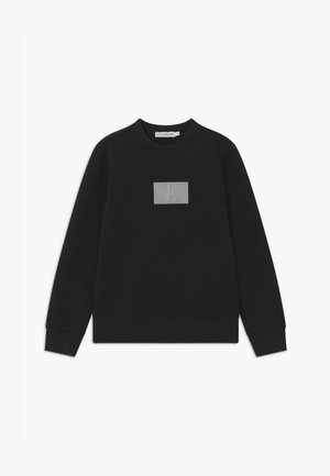 REFLECTIVE BADGE - Sweatshirt - black