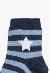 Ewers - RINGEL STERNE 6 PACK - Socks - tinte - 3