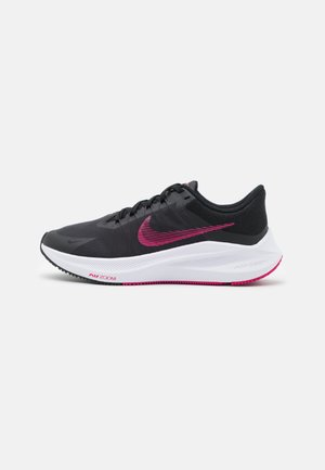 WINFLO 8 - Zapatillas de running neutras - black/fireberry/dark smoke grey/white