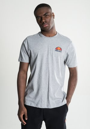 CANALETTO - Print T-shirt - athletic grey marl