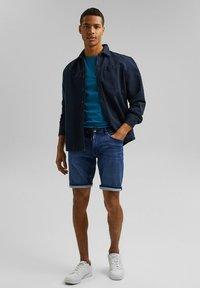 edc by Esprit - Jeansshort - blue medium washed - 1