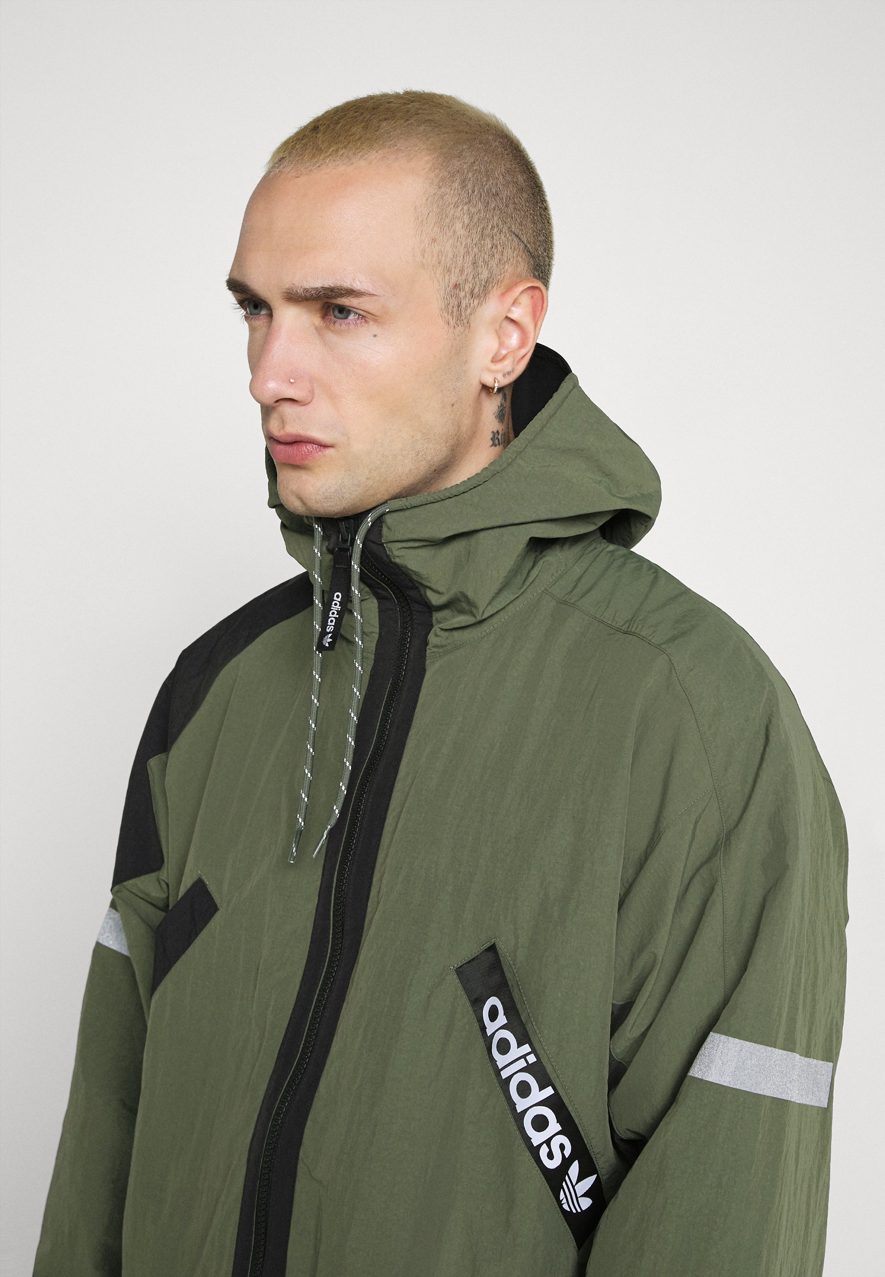 adidas Originals Lett jakke green Zalando.no