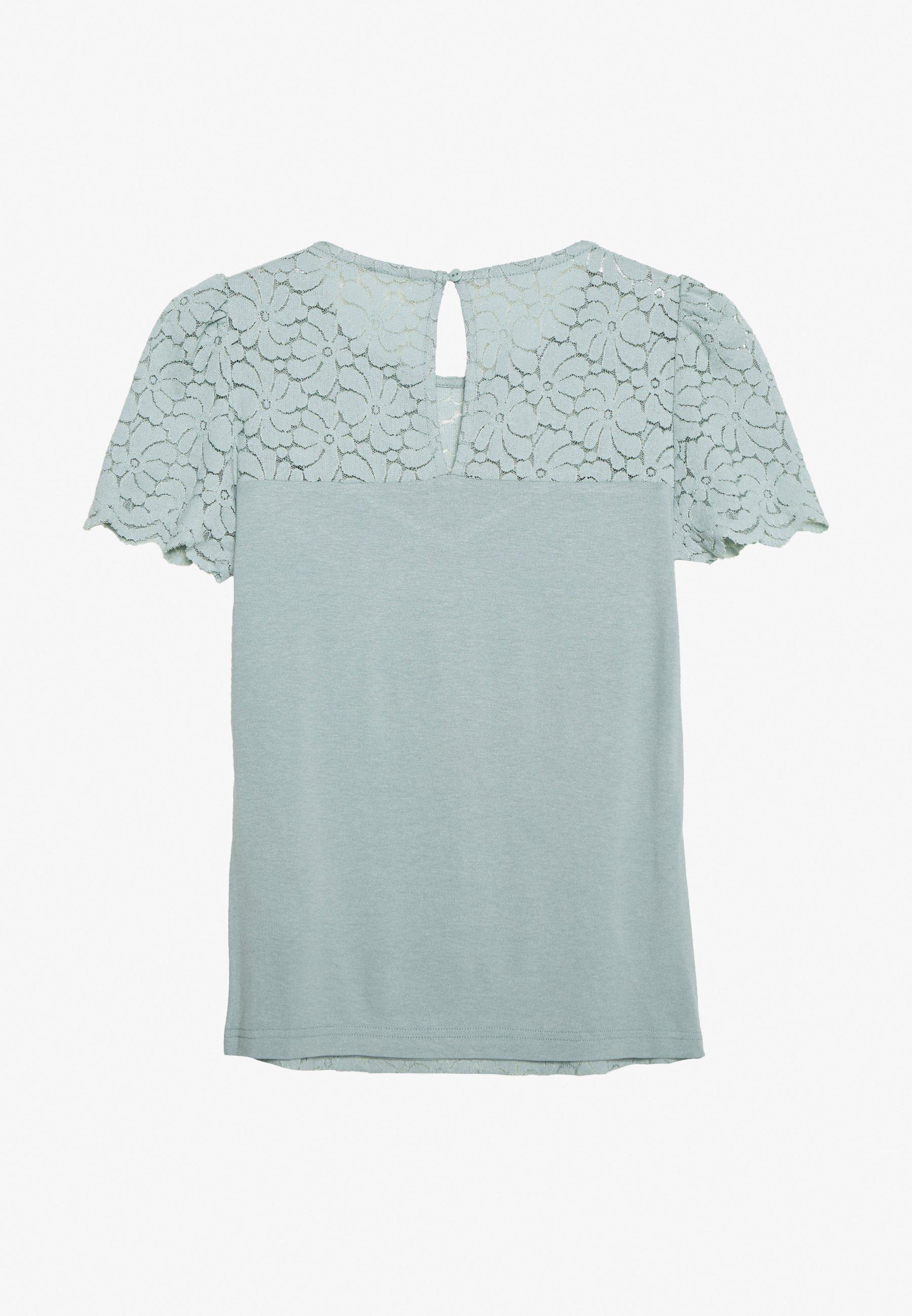 Dorothy Perkins Puff Sleeve Tee - Bluser Pale Green/grønn