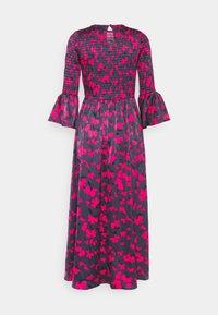 Who What Wear - SMOCKED DRESS - Day dress - slate - 7