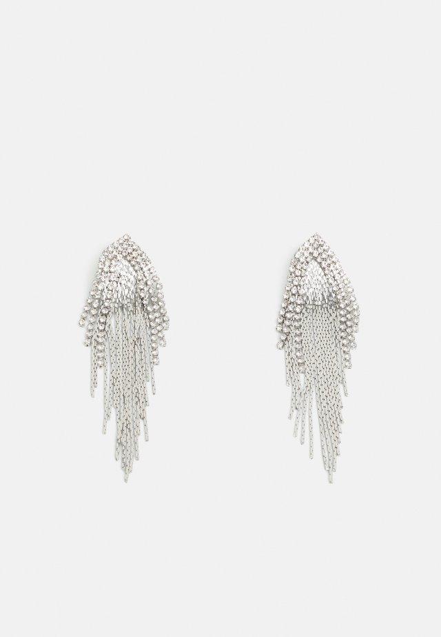 PCYLLA EARRINGS - Kolczyki - silver-coloured