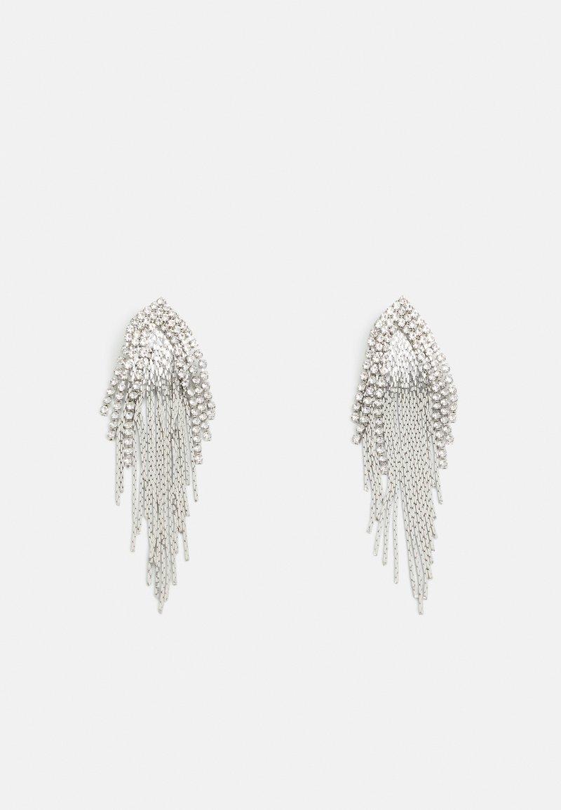 Pieces - PCYLLA EARRINGS - Earrings - silver-coloured