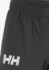 Helly Hansen - SOGN PANT - Kalhoty do deště - ebony - 2
