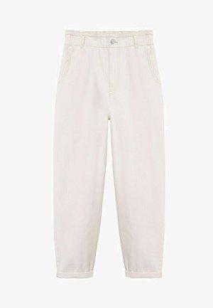 Spodnie materiałowe - gebroken wit