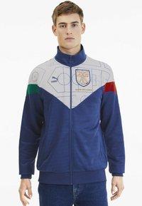 Puma - Sweater met rits - birch-limoges - 0