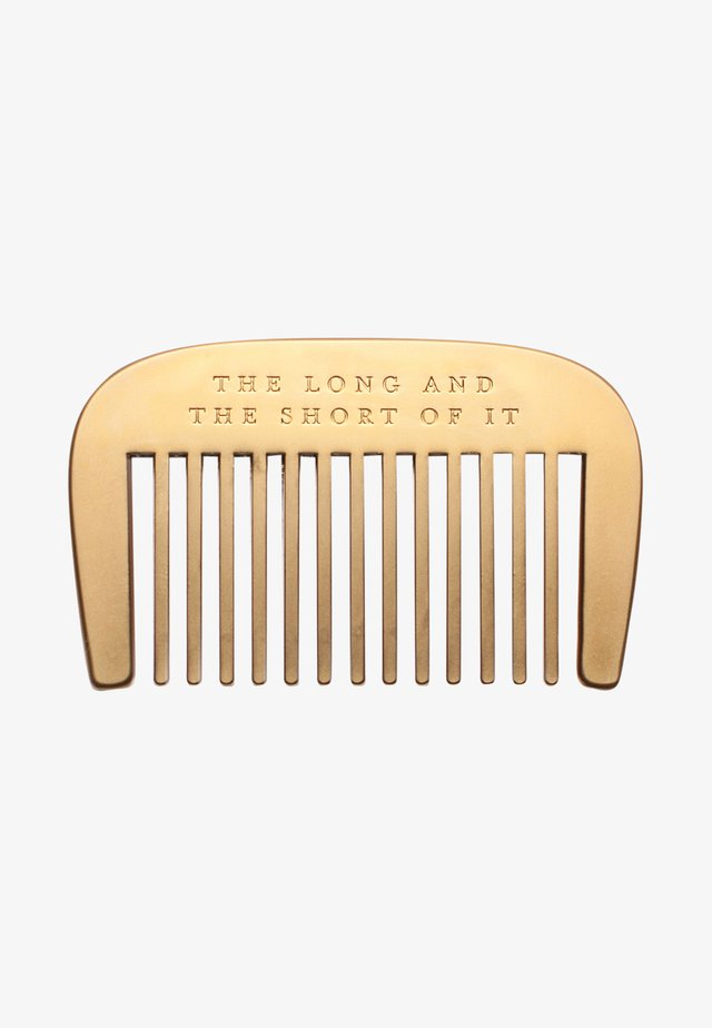 BEARD COMB - Borste - the long & short of it