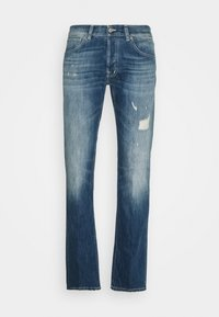 Dondup - PANTALONE QUENTIN - Straight leg jeans - destroyed denim - 5