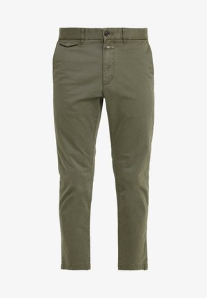 ATELIER CROPPED - Chinos - deep woods