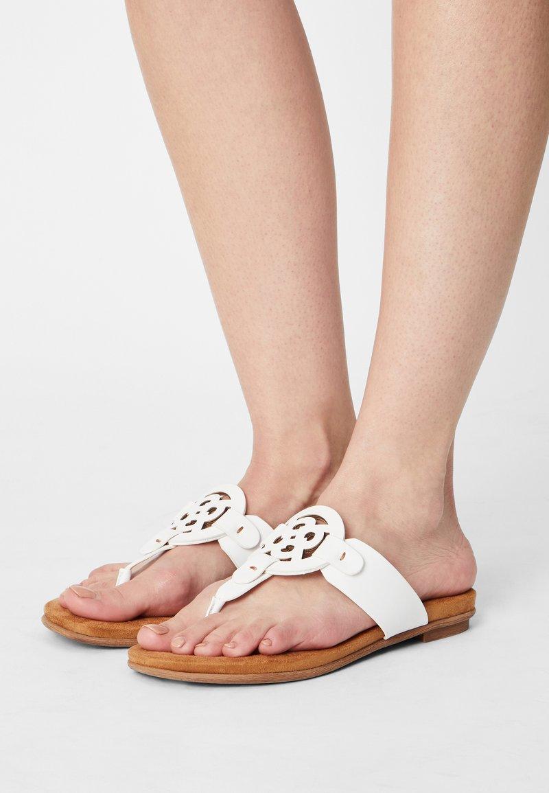 Bugatti - JASMIN - T-bar sandals - white