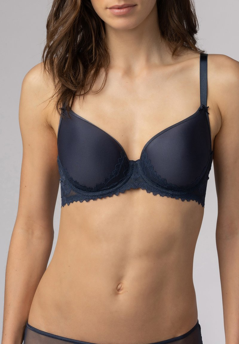 mey - SPACER BH FULL CUP SERIE FABULOUS - Underwired bra - blue
