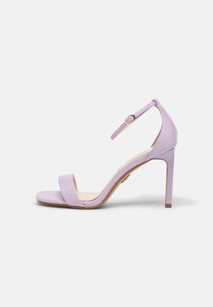 VEGAN ROSABELLA - Sandaalit nilkkaremmillä - light purple