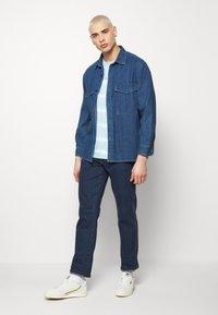 edc by Esprit - OVERBAT - Camiseta estampada - light blue - 1