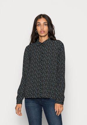 JDYBROOKE SHIRT - Button-down blouse - black