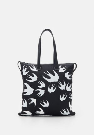 MAGAZINE TOTE SWALLOW - Tote bag - black