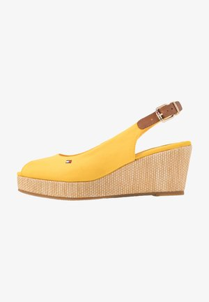 ELBA - Platform sandals - sunny