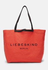 Liebeskind Berlin - AURORA SHOPPER L SHOPPER AUS CANVAS - Tote bag - pumpkin - 5