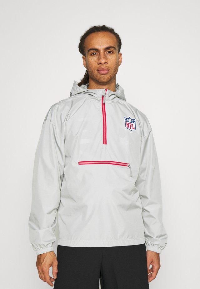 NFL NFL ENHANCED SPORT LIGHTWEIGHT JACKET - Treningsjakke - sports grey