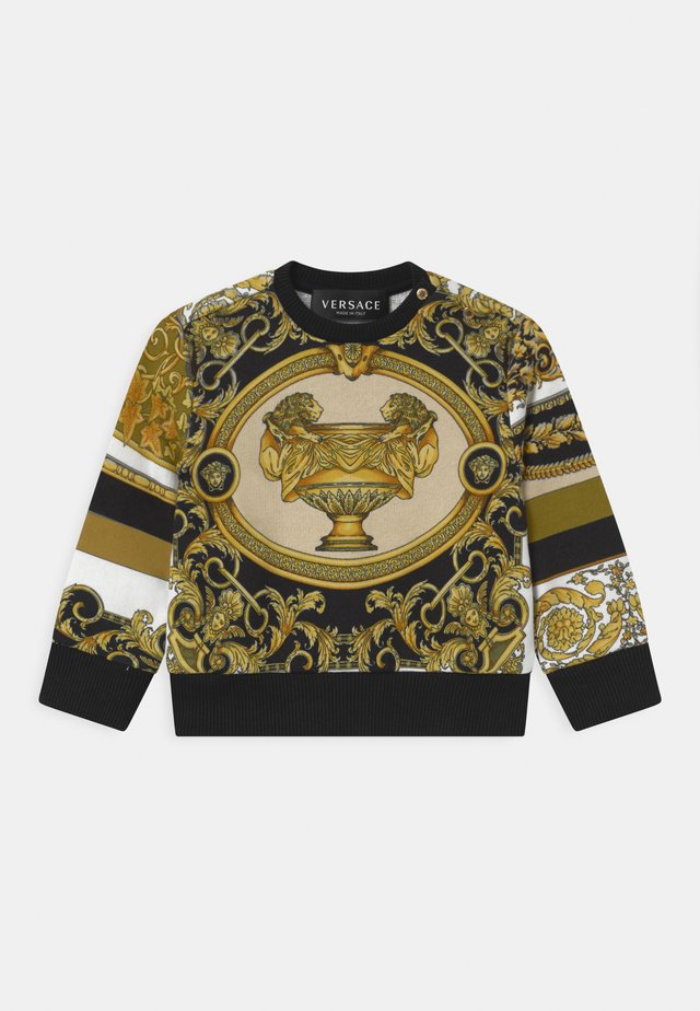 BAROQUE PRINT MOSAIC UNISEX - Sweater - white/gold/kaki