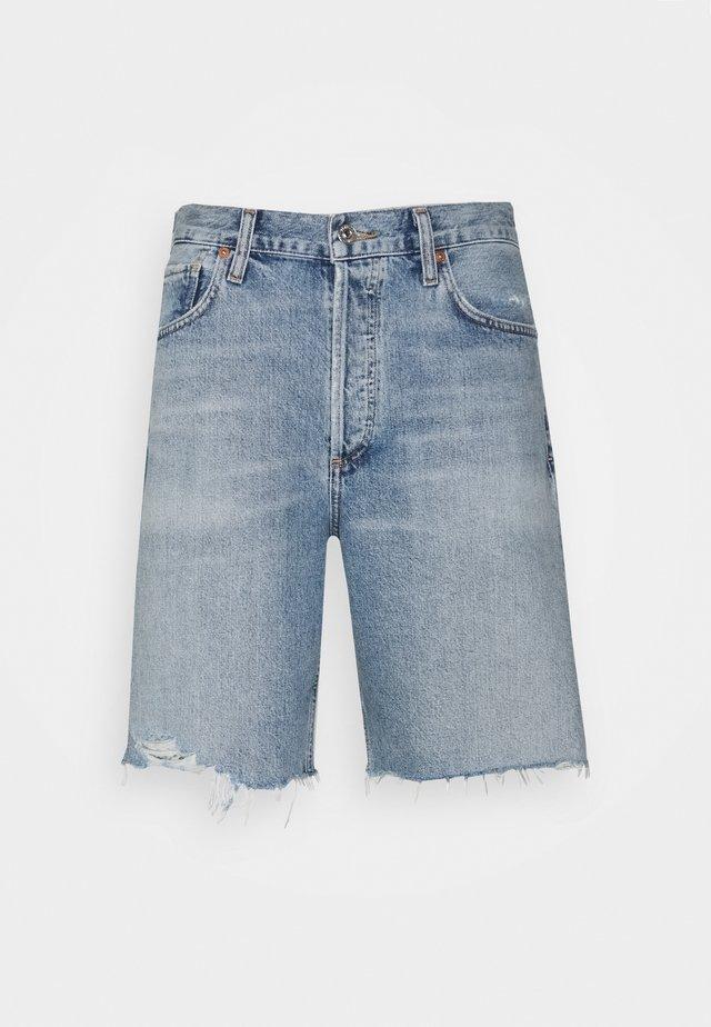 AMBROSIO - Shorts di jeans - light blue