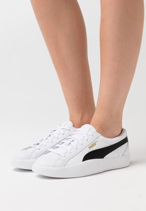 LOVE  - Trainers - white/black