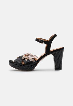 EVAN - Platform sandals - dali iron