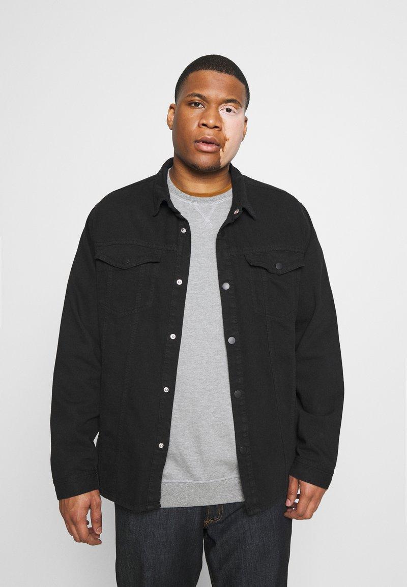 Jack´s Sportswear - JACKET - Spijkerjas - keep black