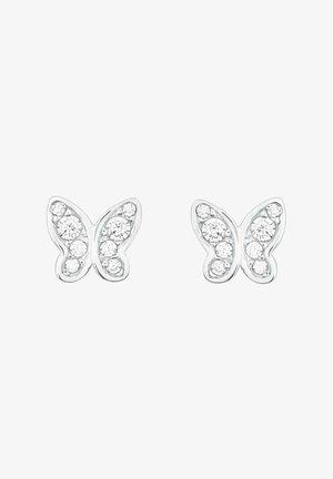 SCHMETTERLING - Earrings - silber