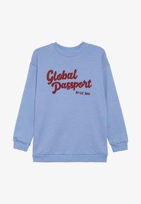 Lil'Boo - GLOBAL PASSPORT - Sweatshirt - allure blue - 2