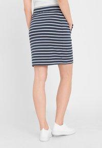 Sea Ranch - Pencil skirt - navy pearl breton - 2